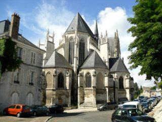 История соборной церкви Сен-Эньян в Орлеане. Крипта святого Аниана