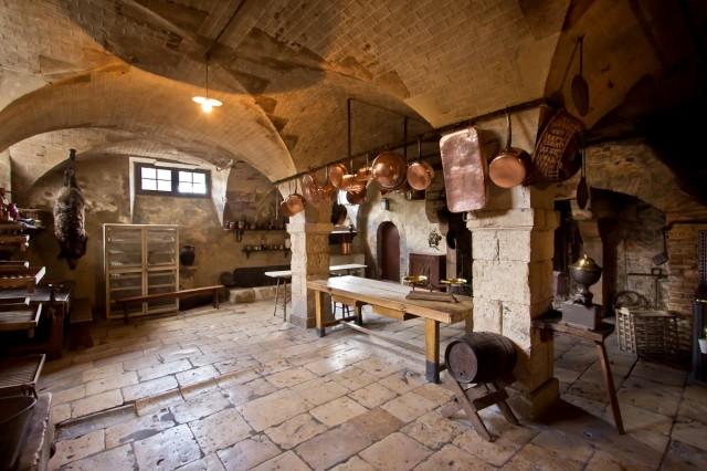 Интерьер замка Ла Ферте