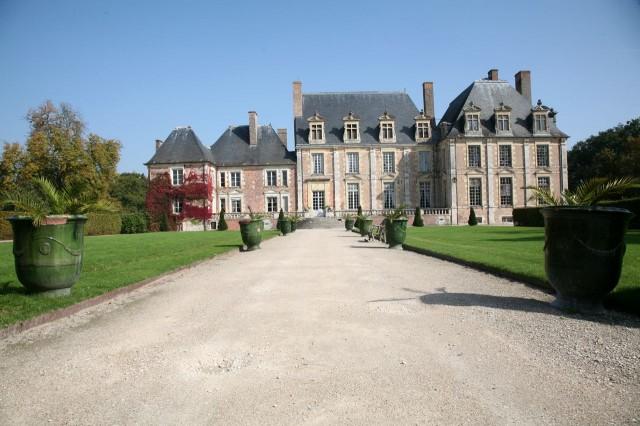 Замок Ла Ферте-Сент-Обен (Château de La Ferté-Saint-Aubin)
