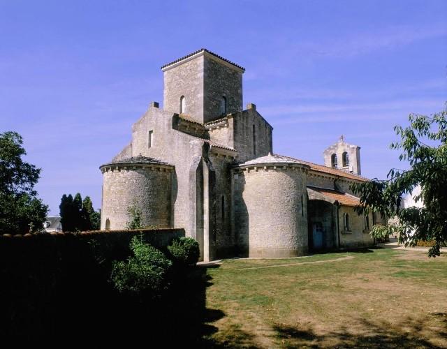 Капелла Каролингов Жерминьи-де-Пре (Oratoire carolingien de Germigny-des-Prés)