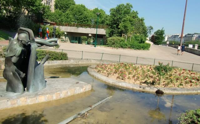 Музей скульптур под открытым небом (Musée de la sculpture en plein air)