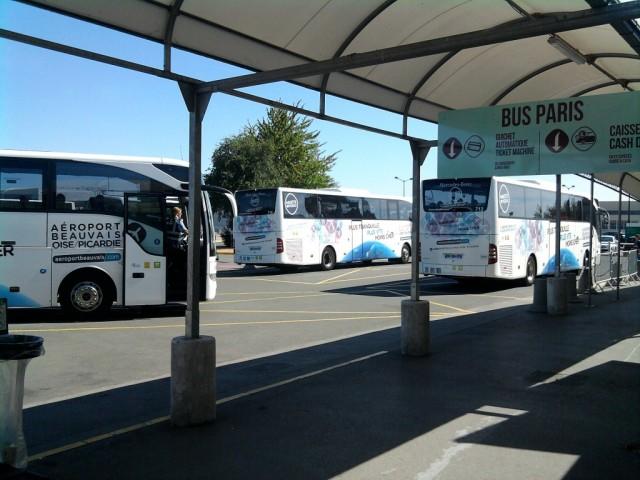 Остановка автобусов у аэропорта