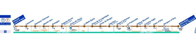 Маршрут Tramway 7